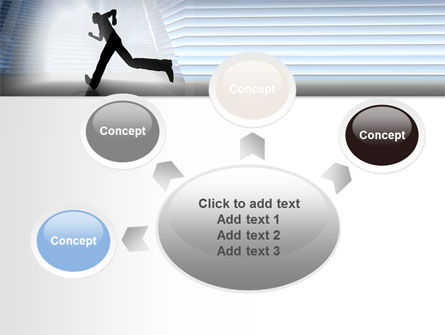 City Runner PowerPoint Template Slide 7