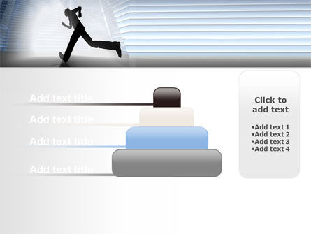 City Runner PowerPoint Template Slide 8