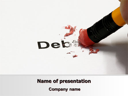 Debt Liquidation PowerPoint Template