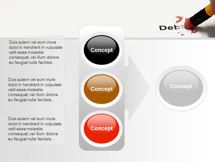 Debt Liquidation PowerPoint Template Slide 11