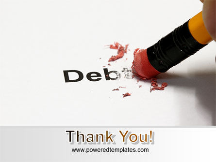 Debt Liquidation PowerPoint Template Slide 20