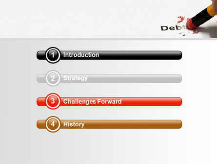 Debt Liquidation PowerPoint Template Slide 3