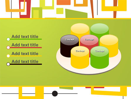 Orange Frames PowerPoint Template Slide 12