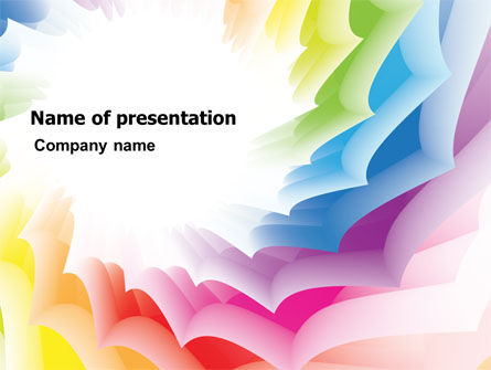 Abstract/Textures: Design Materials PowerPoint Template #07596