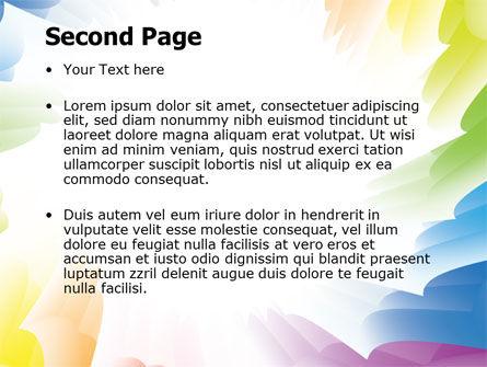 Design Materials PowerPoint Template, Slide 2, 07596, Abstract/Textures — PoweredTemplate.com