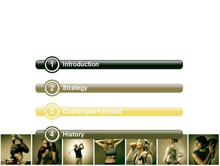 Sport Activities PowerPoint Template, Slide 3, 07597, People — PoweredTemplate.com