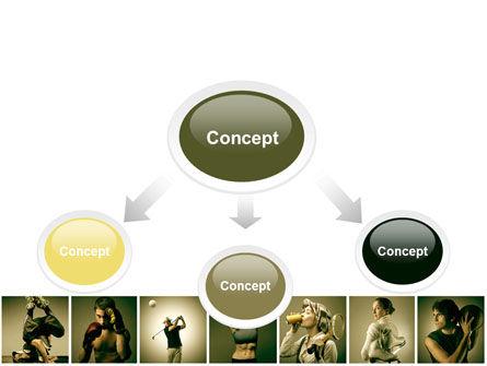 Sport Activities PowerPoint Template, Slide 4, 07597, People — PoweredTemplate.com
