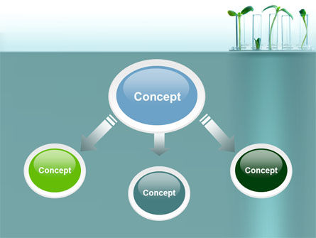 Green Sprigs PowerPoint Template, Slide 4, 07598, Technology and Science — PoweredTemplate.com