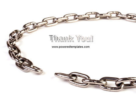 Torn Chain PowerPoint Template Slide 20