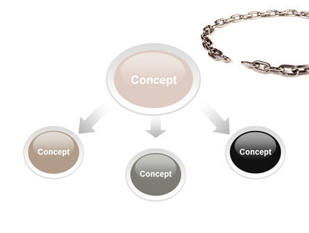 Torn Chain PowerPoint Template Slide 4