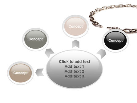Torn Chain PowerPoint Template Slide 7