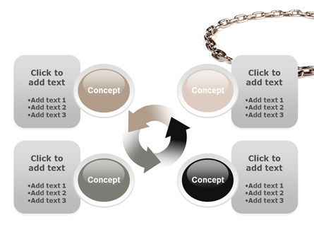 Torn Chain PowerPoint Template Slide 9