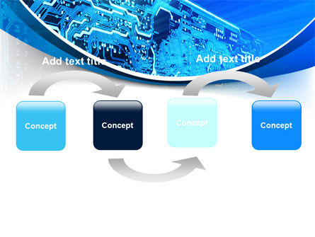 Circuit PowerPoint Template, Slide 4, 07602, Technology and Science — PoweredTemplate.com