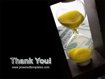Money Time Glass PowerPoint Template Slide 20
