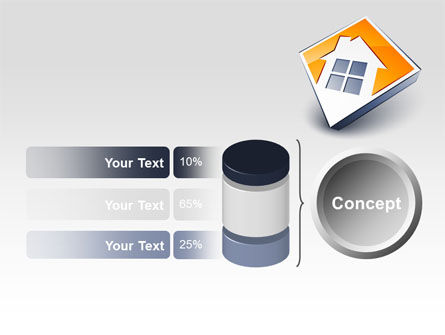 Cottage Icon PowerPoint Template Slide 11