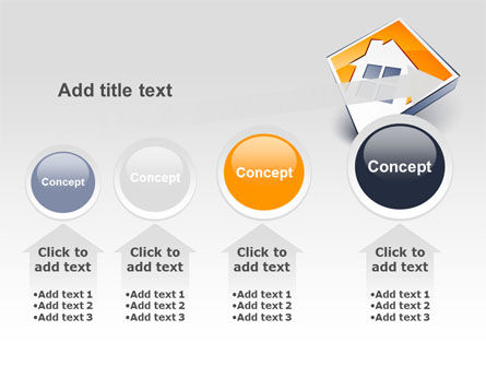 Cottage Icon PowerPoint Template Slide 13