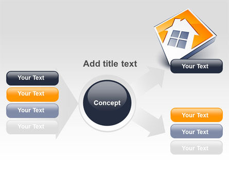 Cottage Icon PowerPoint Template Slide 14