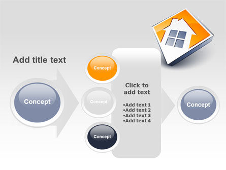 Cottage Icon PowerPoint Template Slide 17
