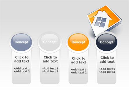Cottage Icon PowerPoint Template Slide 5