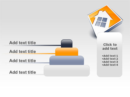 Cottage Icon PowerPoint Template Slide 8