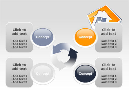 Cottage Icon PowerPoint Template Slide 9
