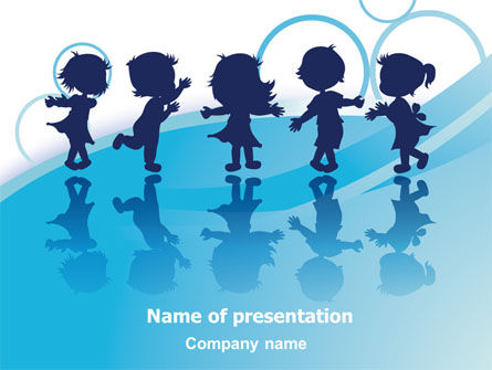 Little Children PowerPoint Template