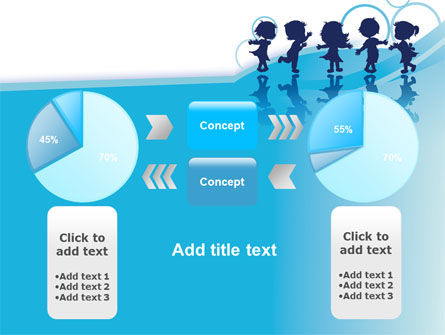 Little Children PowerPoint Template Slide 11