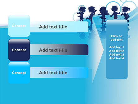 Little Children PowerPoint Template Slide 12