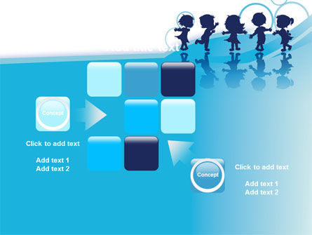 Little Children PowerPoint Template Slide 16