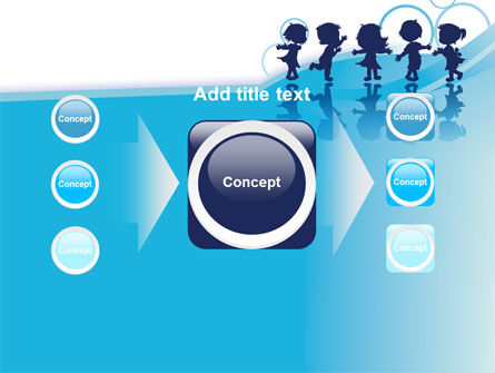 Little Children PowerPoint Template Slide 17