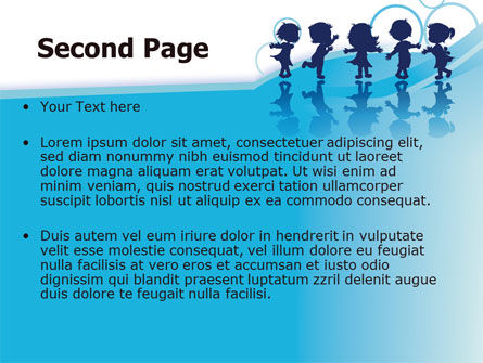 Little Children PowerPoint Template Slide 2