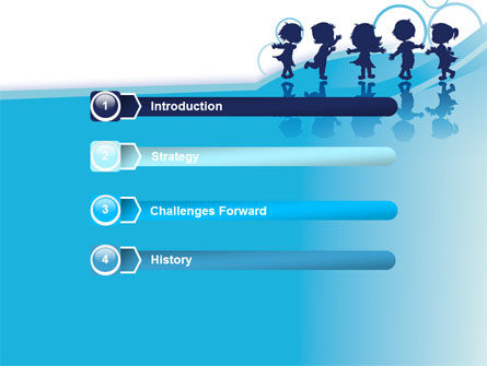 Little Children PowerPoint Template Slide 3