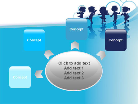 Little Children PowerPoint Template Slide 7