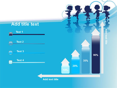 Little Children PowerPoint Template Slide 8