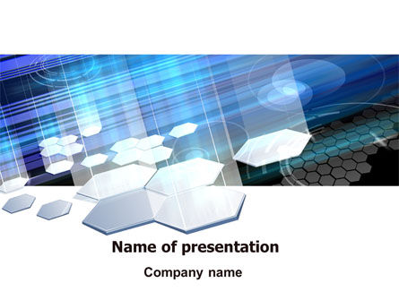Solar Panels PowerPoint Template, 07609, Technology and Science — PoweredTemplate.com