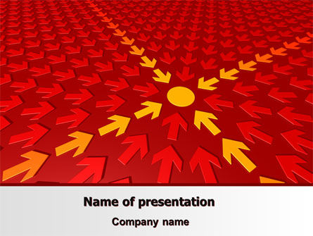 Consulting: Rally Point PowerPoint Template #07610