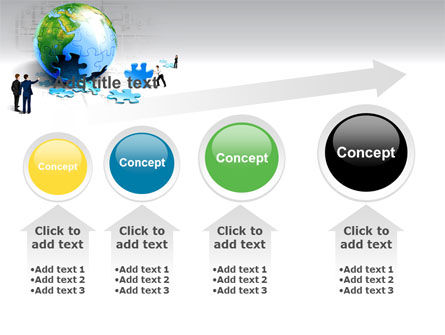 Finalization Of Jigsaw World PowerPoint Template Slide 13
