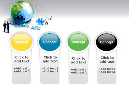 Finalization Of Jigsaw World PowerPoint Template Slide 5
