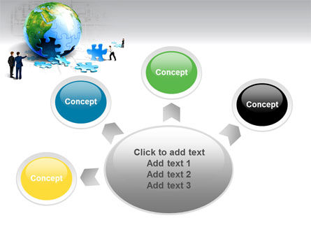 Finalization Of Jigsaw World PowerPoint Template Slide 7