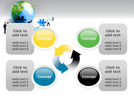 Finalization Of Jigsaw World PowerPoint Template Slide 9