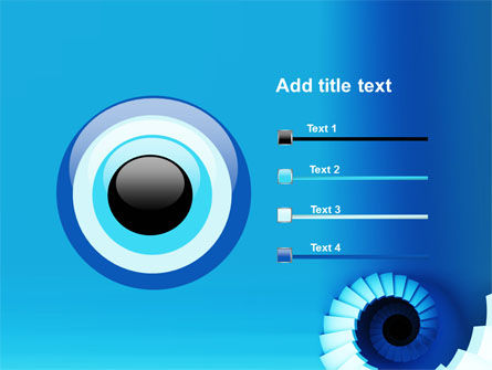 Spiral Stairs PowerPoint Template Slide 9