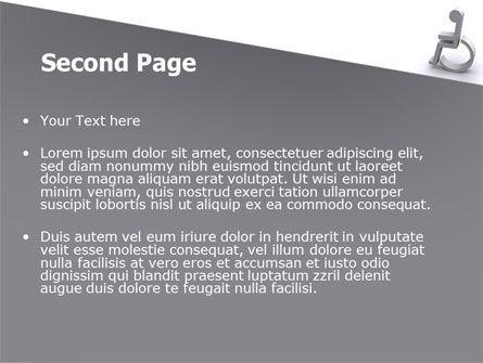 Disability PowerPoint Template, Slide 2, 07614, Medical — PoweredTemplate.com