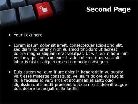 Unlock Key PowerPoint Template Slide 2