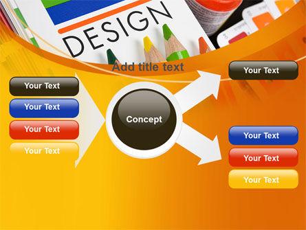 Design Tools PowerPoint Template Slide 15