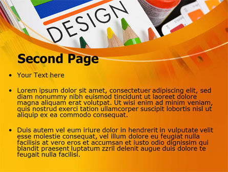 Design Tools PowerPoint Template, Slide 2, 07617, Careers/Industry — PoweredTemplate.com