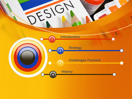 Design Tools PowerPoint Template, Slide 3, 07617, Careers/Industry — PoweredTemplate.com