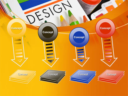 Design Tools PowerPoint Template Slide 8