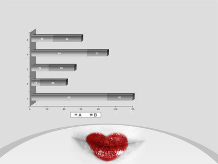 Heart Lips PowerPoint Template Slide 11