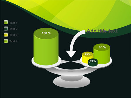 Green Leaf Design PowerPoint Template Slide 10