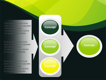 Green Leaf Design PowerPoint Template Slide 11